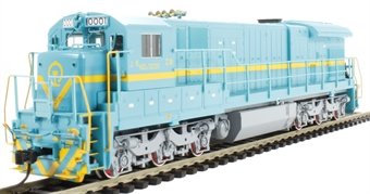 CD01003 ND5-1 Diesel Locomotive Shanghai #0001