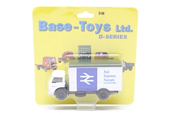 """D-08-PO Box van in British Rail """"Rail Express Parcels"""" livery - Pre-owned - Like new, Still factory sealed"""