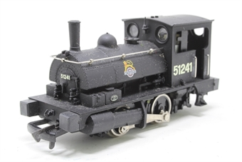 D2Dapol-PO06 Class B7 Pug 0-4-0T in BR Black with early emblem - Pre-owned - Like new - imperfect box