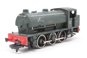 "D7Dapol-PO02 J94 Class 0-6-0ST ""Warrington"" 150 in WD Grey - Pre-owned - noisy runner, imperfect box £37"