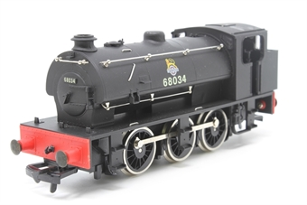 D8B-PO03 WD Austerity J94 0-6-0ST 68034 in BR Black - Pre-owned - Noisy Runner - Imperfect Box