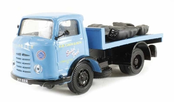 "DA69 Karrier Bantam flatbed with coal & coke load ""S.B.Tawn & Son Solid Fuels"" (circa 1964-1974)"