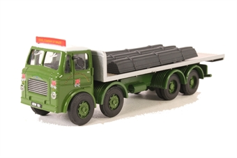 """DB05 Leyland Octopus flatbed """"Steel Company of Wales"""" with steel bar load"""