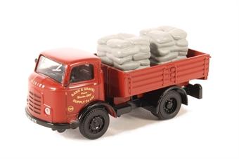 "DB11 Karrier Bantam dropside ""Sand and Gravel Supply Co."" with sack load"