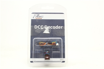 DCR-8PIN-HarnessMini-PO03 8-pin (harness) 2-function 1.1Amp small & thin (mini) decoder with back EMF - Pre-owned - Like new, imperfect box