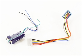 DCC-S4SAX 8-pin 4-function S Series decoder