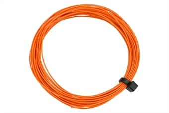 DCW-32OR Stranded fine decoder wire - orange - 6 metres