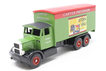 DG044036-PO01 Scammell 6 Wheel Box Van 'Cater Paterson' - Pre-owned - imperfect box
