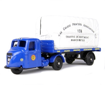 "DG148018 Scammell Scarab flatbed & load ""The Calico Printers"""