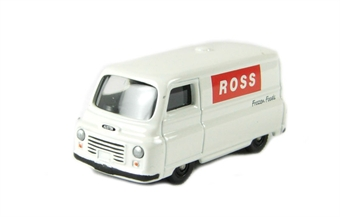 "DG202009 Austin J2 van in ""Ross Frozen Foods"" white livery"