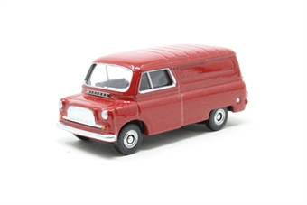 DG203001-PO Bedford CA van in matador red - Pre-owned - Like new