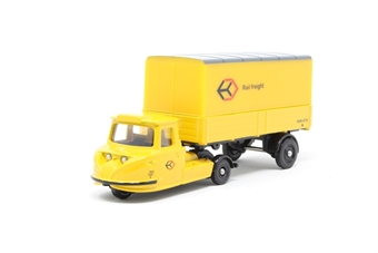 "DG206000.(C)-PO01 Scammell Townsman box trailer ""Rail Freight"" - Pre-owned - Like new £4"