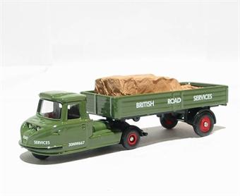 "DG206001 Scammell Townsman dropside trailer & load ""BRS"""