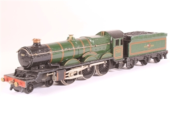 EDLT20-SD Castle Class 4-6-0 'Bristol Castle' 7013 in BR Green - 3-rail(converted to 2 rail) - Pre-owned -Converted to 2 rail, only runs in forward direction £60