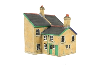 EM6005 Victorian Semi Houses - Low Relief rear