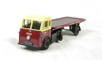 "EM76501 Jen-Helecs & flatbed trailer ""British Railways"""