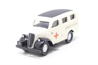 EM76651-PO09 Ford E83W Thames Estate Ambulance - Pre-owned - Imperfect box