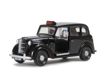 EM76843 Austin FX3 London Taxi in black