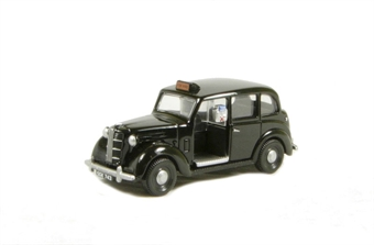 EM76844 Austin FX3 London Taxi in black.