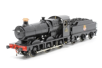 F112-PO04 GWR Class 2251 0-6-0 Steam locomotive 2281 in BR Black with early emblem - Pre owned - Kit built