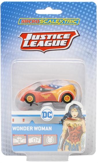 G2168 Micro Scalextric - Wonder Woman slot car