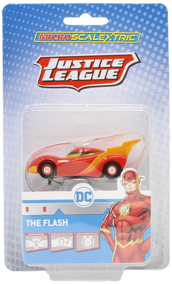 G2169 Micro Scalextric - The Flash slot car