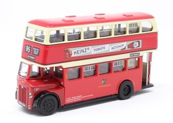 "GDM-20 Daimler CVG6K  ""Manchester Corporation Transport"" 95 East Didbury with Crawfords Crackers / Heinz Ketchup adverts (NNB 284) £49"