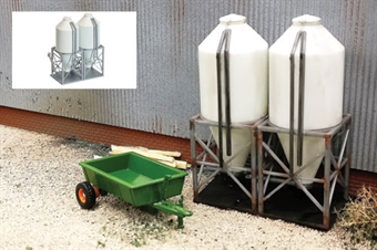 GM420 Farm Silos - plastic kit