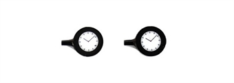 GM466 Wall mounted station clocks - pack of 2 - illuminated