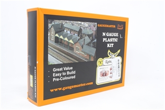 GMKD2003-PO Farm Set - Stable Block, Barn, Cow Shed & Farm House - Pre-owned - Like new £12