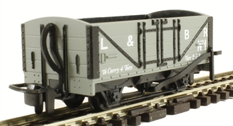 GR-200C 4-wheel open wagon 1 in Lynton & Barnstaple grey