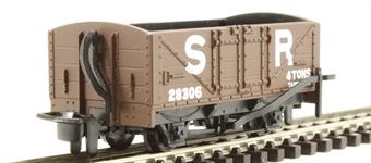 GR-201D 4-wheel open wagon 28306 in Southern Railway brown