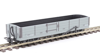 GR-230U Lynton and Barnstaple 8 ton bogie open wagon in plain grey