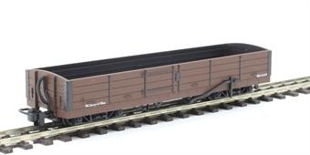 GR-231U Lynton and Barnstaple 8 ton bogie open wagon in plain brown