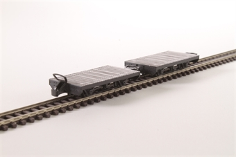 GR-300 Pack of two narrow gauge flat wagons