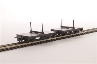 GR-310 Pack of two narrow gauge bolster wagons