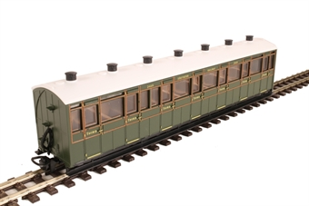 GR-441A Lynton and Barnstaple third class 2469 in Southern Railway olive green