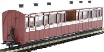 GR-450B Lynton and Barnstaple third class observation coach 10 in L&B livery