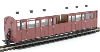 GR-450U Lynton and Barnstaple oberservation coach in indian red - unnumbered