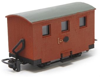 GR-570 4-wheel Ffestiniog 'Quarryman' coach - (Price is estimated - we will notify you if price rises and offer option to cancel)
