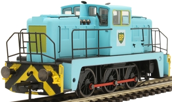 GV2014XS YEC Janus 0-6-0DE shunter in British Petroleum green livery - DCC sound fitted £179