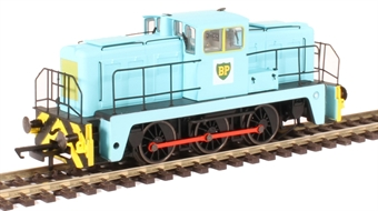 GV2014 YEC Janus 0-6-0DE shunter in British Petroleum green livery
