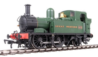 H1401 Class 48xx 0-4-2T 4825 in GWR Unlined green with Great Western lettering