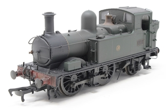 H1403-PO03 Class 48xx 0-4-2T 4871 in GWR Unlined green with Shirtbutton logo - Lightly weathered - Pre-owned - DCC Sound-fitted, damaged brake rods