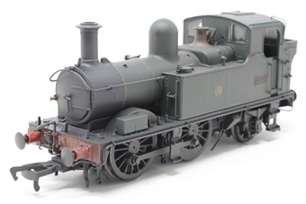 H1403-PO04 Class 48xx 0-4-2T 4871 in GWR Unlined green with Shirtbutton logo - Lightly weathered - Open box, imperfect box