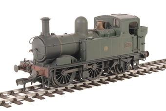 H1403 Class 48xx 0-4-2T 4871 in GWR Unlined green with Shirtbutton logo - Lightly weathered