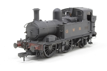 H1405-PO01 Class 48xx 0-4-2T 4807 in GWR Wartime black with G W R lettering - Lightly weathered - Open box, imperfect box