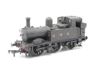 H1405-PO03 Class 48xx 0-4-2T 4807 in GWR Wartime black with G W R lettering - Lightly weathered - Open box, DCC Fitted