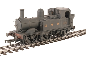 H1405 Class 48xx 0-4-2T 4807 in GWR Wartime black with G W R lettering - Lightly weathered
