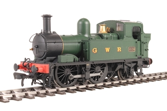 H1406 Class 14xx 0-4-2T 1420 in GWR Unlined green with G W R lettering